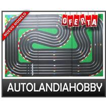 Pista Autos Scalextric 4 Vias, Completa Equipo Super Pro!!!