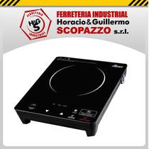 Anafe Alpaca Vitroceramico 2000w 1 Hornalla Control Digital