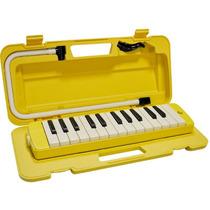 Melodica Yamaha Pianica P25f Amarilla Con Estuche