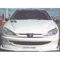 Peugeot 206 Spoiler Delantero Flaps. Dejalo Deportivo