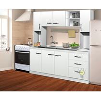 Combo Cocina Alacena Bajomesada S/bacha Organizador Modular