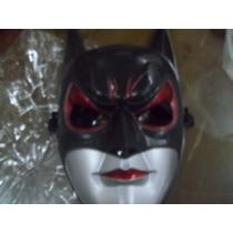 Mascara De Batman De Plastico Duro