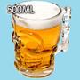 Vaso Chopp De Cerveza Calavera Gigante Importado 500 Ml