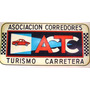 Calcomania Al Agua Actc Asoc Corredores Turismo Carretera