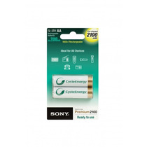 Mendoza, 2 Pilas Recargables Aa Sony Cycle Energy Envio