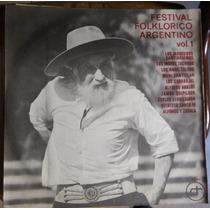 Festival Folklorico Vol 1 Disco Vinilo Lp Manceros Tacunau S