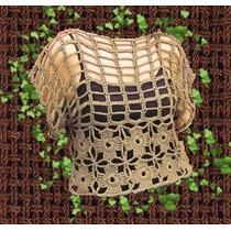 Remera Tejida Crochet Red Varios Talles Y Colores