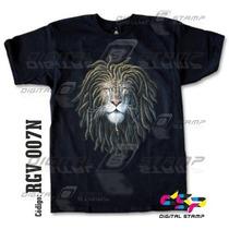 Remeras Reggae Lions 7 Estampado Digital Stamp, Miralas!
