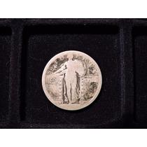Moneda 1/4 Dolar Liberty Eeuu Plata 900 19?? Cuarto 25 Cents