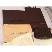 Cartera Louis Vuitton Pochette Grande, Original Con Factura
