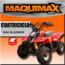 Cuatriciclo Fun 90cc Para Nenas 47 Street Rosa