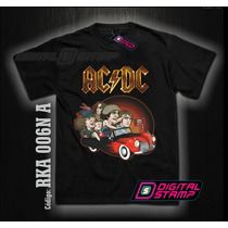 Remeras Ac Dc Rock Acdc 06 Comics. Miralas! Digital Stamp