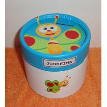 Baby Tv- Souvenir Alcancia Golosinera 8,5 X 8,5 Cm.