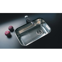 Pileta Cocina Simple Johnson Acero Z52/18 Bacha