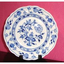 Antiguo Plato De Porcelana Meissen - Alemania