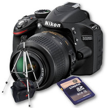 Nikon D3200 Kit 18-55mm+ Bolso+ Sd 8gb+ Trípode 1,35mts!!!!!