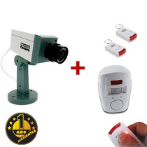 Sensor Movimiento C/ Alarma + Camara De Seguridad 1 Año Gtia