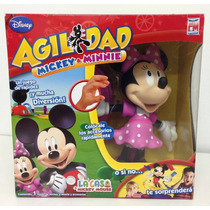 Agilidad Disney Minnie Juego Original Tv