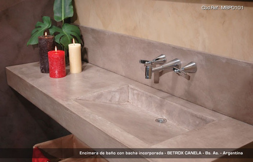 Baño Microcemento Alisado:Mesada De Cemento Alisado Con Pendiente 60×50 $1900 ajYZw – Precio D