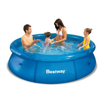 Pileta Redonda Bestway 305 X 76 Cm Aro Inflable Set No Intex