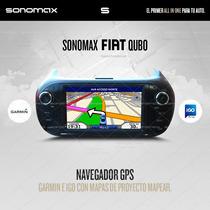Stereo Fiat Qubo Gps Dvd Tv Ipod Usb Bluet Sd Touch Sonomax