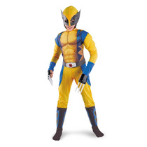 Disfraz Musculos Wolverine X-men Avengers Original Marvel