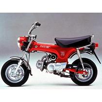Guardabarro Delantero Honda Dax/max/day Motos Miguel