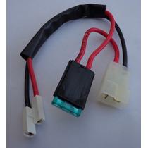 Cable Chicote 6-12v Con Fusible Para Auto Bateria Niños