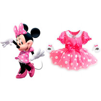 Disfraz Minnie Mouse Para Bebé - Original Disney Store!