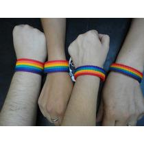 Pulsera Del Orgullo Gay - Pack X 10 Unidades- Revendedores