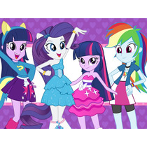 Kit Imprimible Candy Bar My Little Pony Equestria Girls