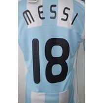 Números-nombres Camiseta Argentina Adidas 2008-2009 Oficial