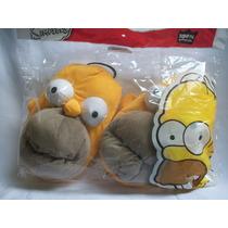 Pantuflas Los Simpsons Homero Originales Todos Los Talles