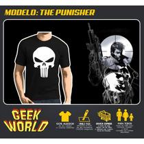 Remeras Superheroes! - The Punisher - Geekworld Rosario