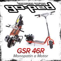 Monopatin A Motor Goped Gsr 46r Plegable Nafta Scooter 46 Cc