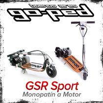 Monopatin Motor Goped Gsr Sport Plegable Nafta Scooter 29 Cc