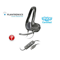 Plantronics Audio 628 Usb Headset Vincha Cabezal Auricular !