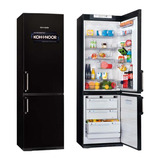 Heladera Con Freezer Kohinoor Kgb-4094 Negra 368 Litrs 2 Mot