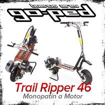 Monopatin A Motor Goped Super Gtr 46r Plegable Nafta 46 Cc
