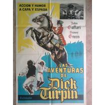 Las Aventuras De Dick Turpin 1607 Afiche De 1.10 X 0.75