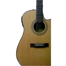 Guitarra Electroacustica Gracia Modelo 115 Eq Para Zurdo