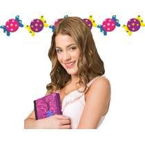 Kit Imprimible Candy Bar Violetta - Editable 2014
