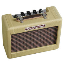 Fender Amp Guitarra, Portatil 9v, Mini57 Twin-amp, 2x2 Tweed