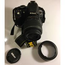 Cámara Nikon D3100 Lente Nikkor 18-55 Mm - 1358 Disparos