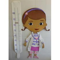 Medidor Infantil La Doctora Juguetes En Goma Eva-decoración