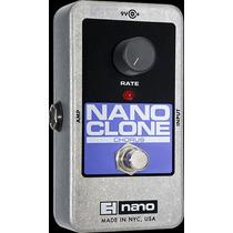 Pedal De Efecto Electro Harmonix Nano Clone Chorus