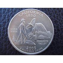 U. S. A. - California, Moneda De 25 Centavos (cuarto), 2005