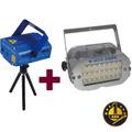 Laser Lluvia Multipunto + Flash Portatil Leds 1 Año Garantia