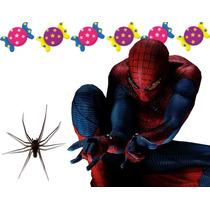 Kit Imprimible Candy Bar Sorprendente Hombre Araña Spiderman