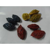 Juguete Antiguo Artesanal Carozo Durazno Colores Juego Lote